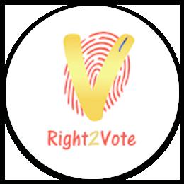 Right2Vote Logo