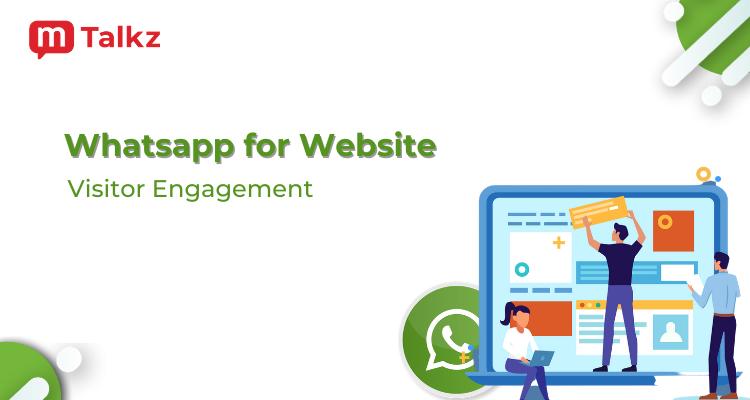 Whatsapp for Website Retargeting